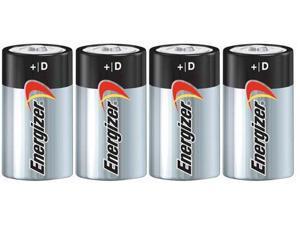 Energizer MAX Alkaline Size D (4-Pack) Alkaline Battery
