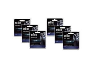 Braun 32S (6 Pack) Series 3 Replacement Foil and Cutter Head Cassette 32B
