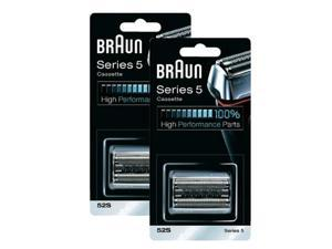 Braun 52S (2 Pack) Replacement Foil and Cutter Pack