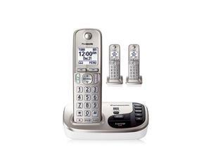 Panasonic KX-TGD223N DECT 6.0 Expandable Digital Cordless Answering System with 3 handsets