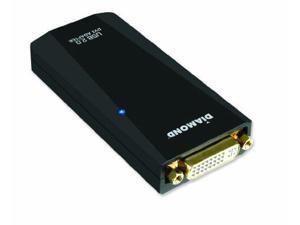 DIAMOND MULTIMEDIA DMMBVU165LTB Diamond Multimedia USB External Video Display Adapter