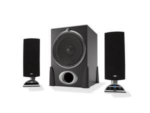 Cyber Acoustics 448539M Cyber Acoustics CA-3550 2.1 Computer Speaker System - Silver
