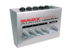 Nady Systems Inc. NDYMM141B 4-Channel Mini Mixer - 20Hz 20kHz