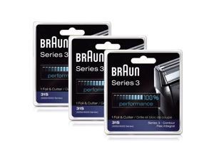 Braun 31S (3 Pack) Braun Series 3 Foil and Cutter Block Sliver
