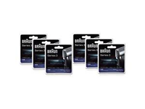 Braun 31S (6 Pack) Braun Series 3 Foil and Cutter Block Sliver