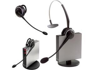 Jabra GN9125 Flex Convertible Wireless Headset w/ PeakStop Tech & Flexible Boom
