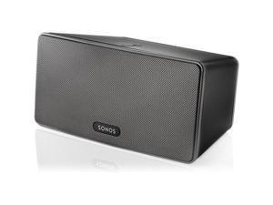 Sonos PLAY 3 BLACK Wireless Speaker System PLAY3US1BLK