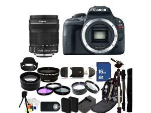 Canon EOS Rebel SL1 DSLR Camera with 18-135mm f/3.5-5.6 EF-S IS STM Lens - Kit 2