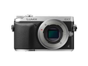 Panasonic DMC-GX7SBODY Silver 16.00 Megapixels 3.0 inch (7.5 cm) / 3:2 Aspect / Wide-viewing angle LCD Digital Single Lens Mirrorless Camera