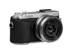 Panasonic Lumix DMC-GX7 Mirrorless Micro Four Thirds Digital Camera with 20mm f/1.7 II ASPH. Lens (Silver)