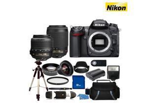 SSE 16-Piece Set: Nikon D7000 16.2MP 1080p DSLR Camera & Accessories