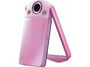 Casio 12.1 MP EXILIM HIGH SPEED EX-TR35 HD Camera w rotating handle for self-portraits - Pink