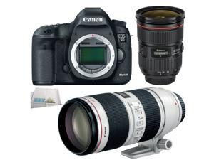 Canon EOS 5D Mark III + 24-70mm F2.8 II + 70-200mm F2.8 IS II ELITE LENS BUNDLE
