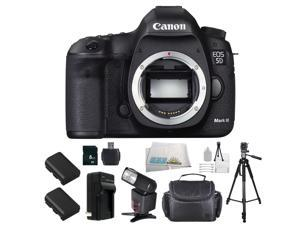Canon EOS 5D Mark III 22.3MP Full Frame CMOS with 1080P Full-HD Video Mode Digital SLR Camera - Body Only Starter Bundle Kit