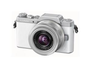 Panasonic Lumix DMC-GF7 Mirrorless Camera w/12-32mm F3.5-5.6 II Lens - White