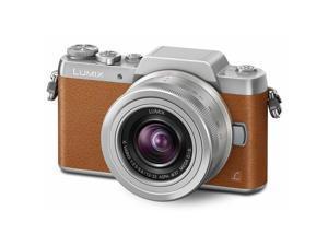 Panasonic Lumix DMC-GF7 Mirrorless Micro Four Thirds Digital Camera with 12-32mm f/3.5-5.6 ASPH. Lens - Brown
