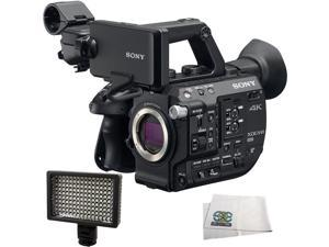 Sony PXW-FS5 XDCAM Super 35 Camera System + 160 LED Video Light + Microfiber Cleaning Cloth …