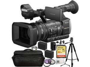 Sony HXR-NX3/1 NXCAM Professional Handheld Camcorder 14PC Accessory Kit. Includes SanDisk 32GB Extreme SDHC Class 10 Memory Card (SDSDXN-032G-G46) + 2 Extended Life Replacement F970 Batteries + MORE