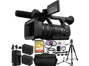 Sony HXR-NX5N NXCAM Professional Camcorder 32GB Bundle 20PC Accessory Kit. Includes SanDisk 32GB Extreme SDHC Memory Card (SDSDXN-032G-G46) + 2 Extended Life Replacement F970 Battteries + MORE