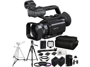 Sony PXW-X70 Professional XDCAM Compact Camcorder 19PC Accessory Kit. Includes 3PC Filter Kit (UV+CPL+FLD) + 2 Replacement NP-FV100 Batteries + AC/DC Rapid Home & Travel Charger + MORE