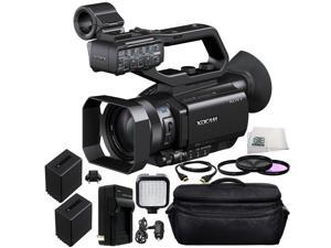 Sony PXW-X70 Professional XDCAM Compact Camcorder 12PC Accessory Kit. Includes 3PC Filter Kit (UV+CPL+FLD) + 2 Replacement NP-FV100 Batteries + AC/DC Rapid Home & Travel Charger + MORE