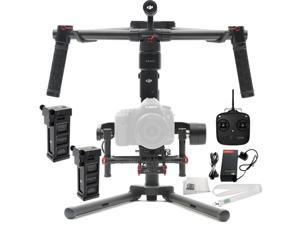 DJI Ronin-M 3-Axis Brushless Gimbal Stabilizer Includes Manufacturer Accessories + DJI Intelligent Battery for Ronin-M + SSE Transmitter Lanyard + Microfiber Cleaning Cloth
