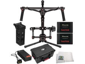 DJI Ronin 3-Axis Brushless Gimbal Stabilizer 6PC Accessory Kit Includes Manufacturer Accessories + 2 SanDisk 240GB Extreme Pro Solid State Drives (SDSSDXPS-240G-G25) + Microfiber Cleaning Cloth