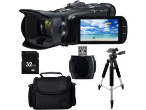 Canon VIXIA HF G40 Full HD Camcorder w32GB SD Card, SD Card Reader, Full Size Tripod and Deluxe Carrying Case