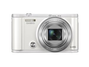 Casio Exilim EX-ZR3600 Self-Portrait selfie Compact Digital Camera (White)