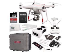 Autel Robotics X-Star Premium Quadcopter with 4K Camera and 3-Axis Gimbal Accessory Bundle - Includes Manufacturer Accessories + SanDisk Ultra 32GB microSDHC UHS-I Card with Adapter + MORE