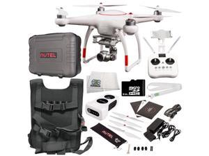 Autel Robotics X-Star Premium Quadcopter with 4K Camera and 3-Axis Gimbal Accessory Bundle - Includes Manufacturer Accessories + 64GB Micro SD Card + Backpack Strap Carry System + MORE