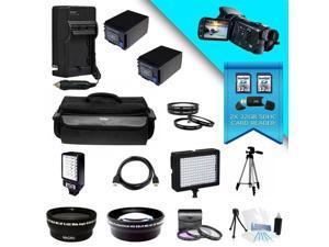 Canon VIXIA HF G20 Full HD 32GB Camcorder (Black) Kit 5