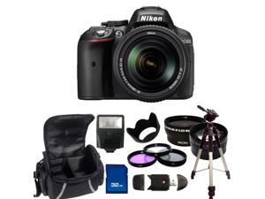 Nikon D5300 Digital SLR Camera With 18-140mm Lens Kit 2