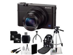 Sony Cyber-shot DSC-RX100 III 20.1 MP Digital Camera With Advanced Bundle