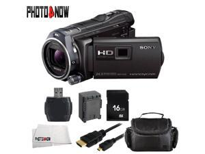 Sony 32GB HDR-PJ810 Full HD Handycam Camcorder with Built-in Projector (Black) With Basic Bundle