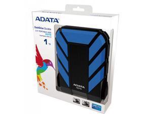 ADATA 1TB HD710 DashDrive Series USB 3.0 Durable Water & Shock Proof Portable Hard Drive Blue Model AHD710-1TU3-CBL