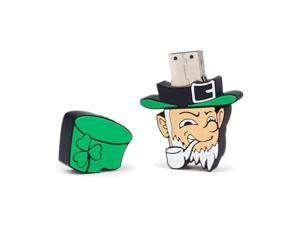 NEON 8GB Leprechaun USB 2.0 Flash Drive. Durable silicone High Speed. Model LEP-USB-8GB