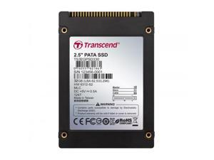 """Transcend 32GB 2.5"""" IDE PATA Internal SSD Solid State Disk MLC Flash Model TS32GPSD330"""