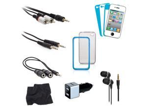 ISOUND 12 in 1 Accessory Kit for your iPhone 4 / 4S. Model ISOUND-1637