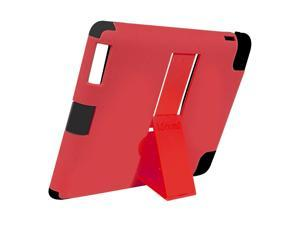ISOUND Duraview Sliding KickStand Case for iPad 2, 3rd, 4th Gen - Red. Model ISOUND-4776