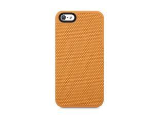 ISOUND Honeycomb Hard Shell Low Profile Case for iPhone 5 - Orange. Model ISOUND-5325