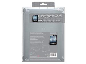 ISOUND Honeycomb Case for iPad 2, 3rd & 4th Gen - Gray. Model ISOUND-4710
