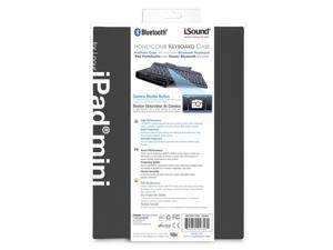 ISOUND Honeycomb Keyboard Case for iPad Mini - Black Model ISOUND-4758