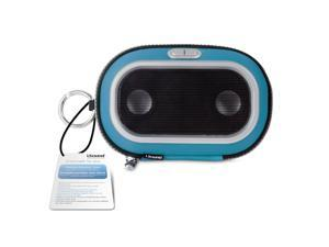 ISOUND Concert to Go Portable Speaker Case for iPhone 3G / 3GS / 4, iPod - Blue. Model ISOUND-1670