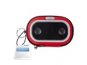 ISOUND Concert to Go Portable Speaker Case for iPad, iPad2 iPhone 3G / 3GS / 4, iPod - Red. Model ISOUND-1673