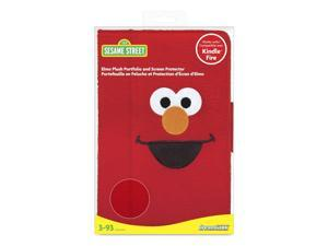 ISOUND Elmo Plush Portfolio & Screen Protector for Kindle Fire - Red. Model ISOUND-3470
