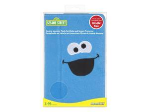 ISOUND Cookie Monster Plush Portfolio & Screen Protector for Kindle Fire - Blue. Model ISOUND-3471