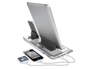 ISOUND Power Veiw Pro S Charge & View Dock for iPad, iPhone , iPod - White. Model ISOUND-4719