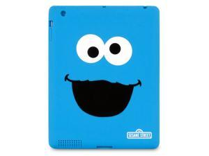 ISOUND Cookie Monster TPU Case for iPad 2, 3 - Blue. Model ISOUND-4609