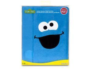 ISOUND Cookie Monster Plush Portfolio Case for iPad Mini - Blue. Model ISOUND-4611